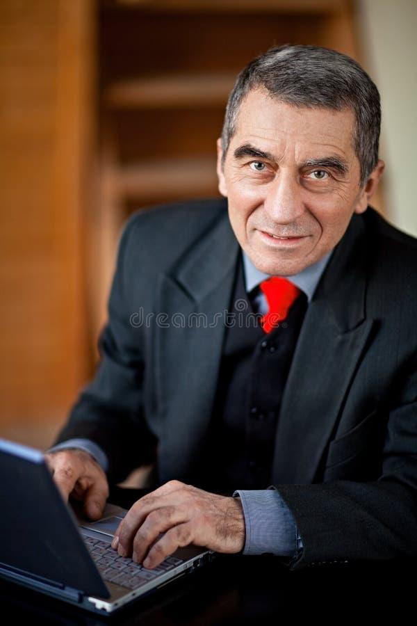 Senior executive business man royalty free stock photography