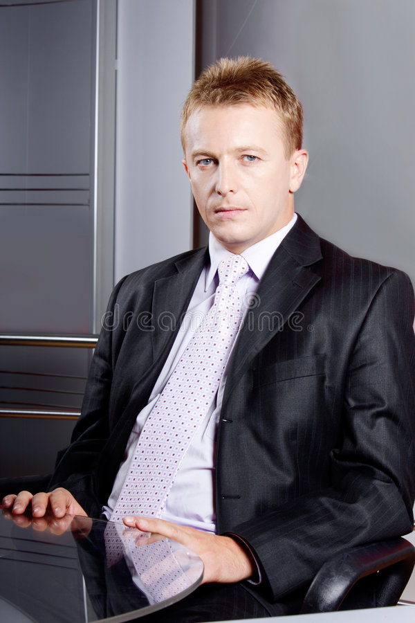 Senior executive businessman stock images