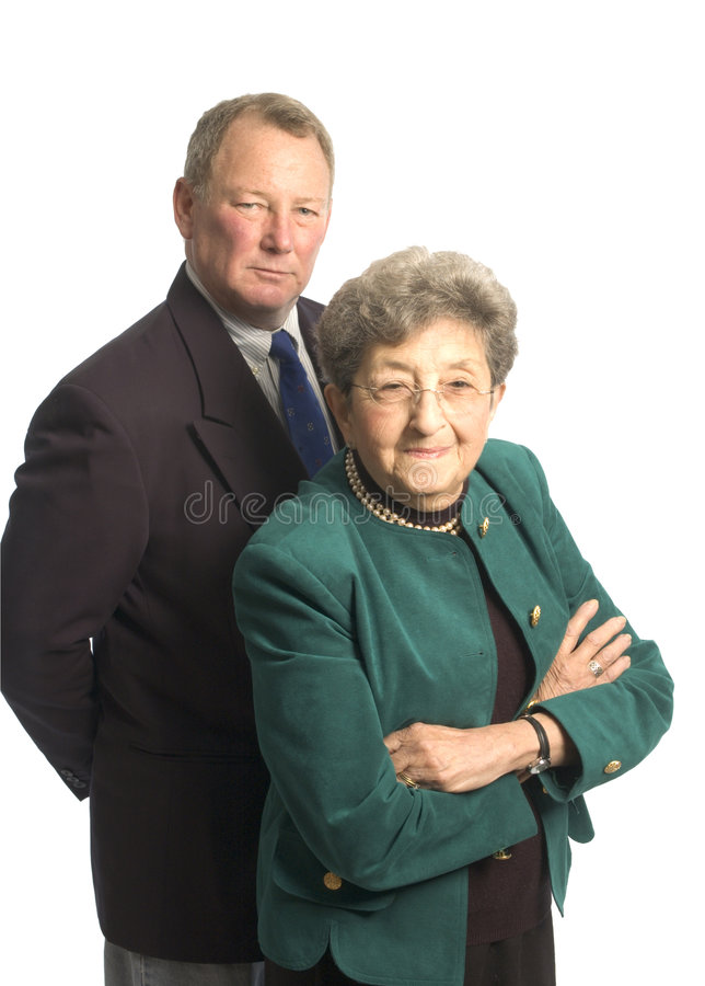 Senior executive team royalty free stock photos