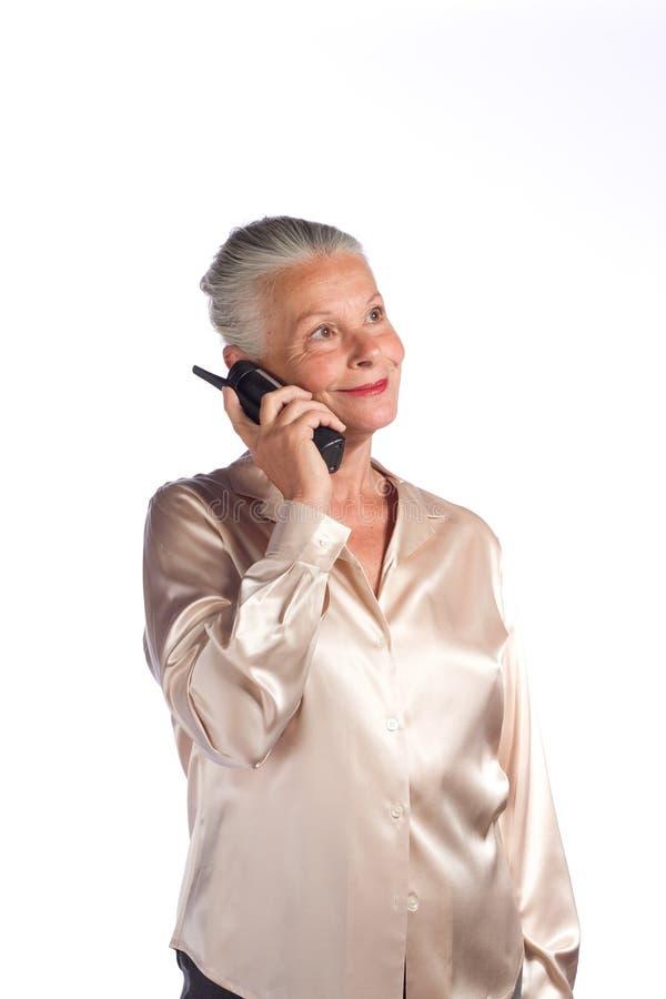 Senior female executive royalty free stock image
