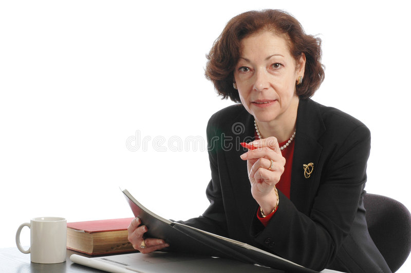 Download Senior Female Lady Business Executive Stock Photography - Image: 503432