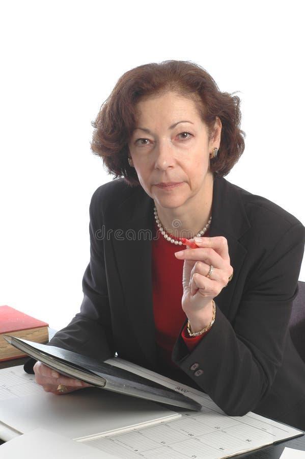 Download Senior Female Lady Business Executive Stock Image - Image: 503433