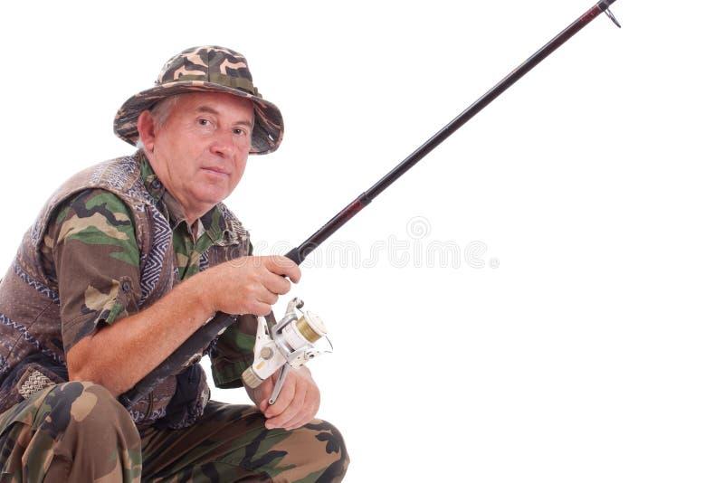 Download Senior fisherman stock photo. Image of fisherman, senior - 21413264