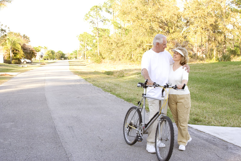 Download Senior Fitness stock image. Image of couple, cycle, life - 8431989