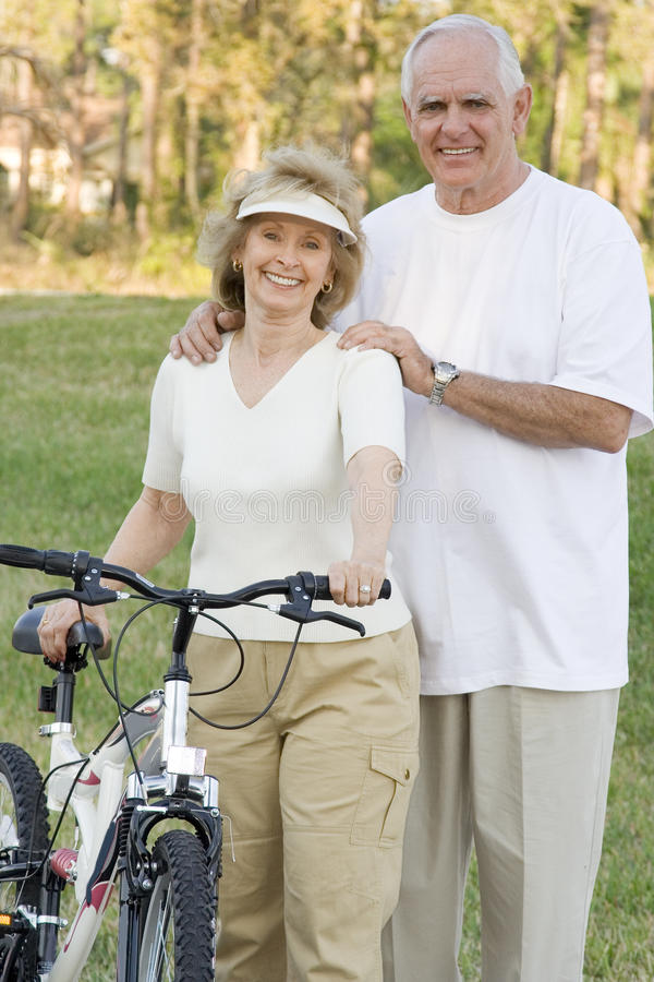 Senior Fitness royalty free stock photo
