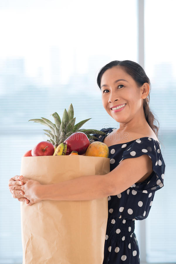 Senior Housewife Stock Images