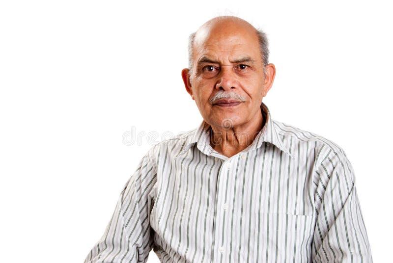 Senior Indian man stock images