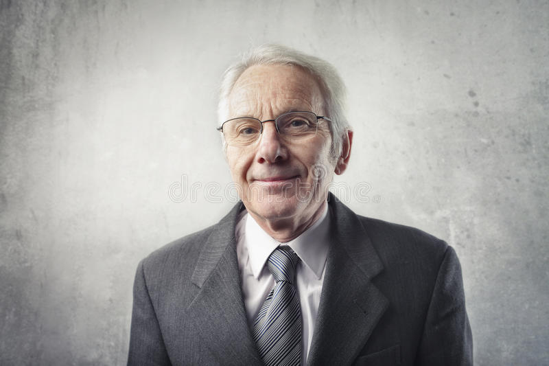 Senior leader stock images