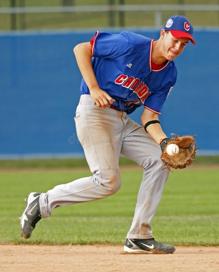 Free Senior League Baseball World Series Canada Knop Royalty Free Stock Image - 15693956