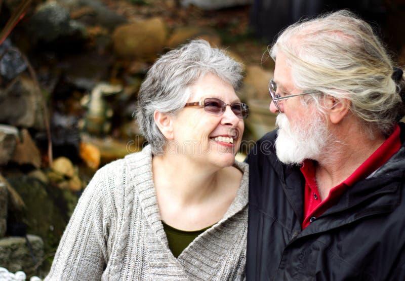 Senior Love stock photography