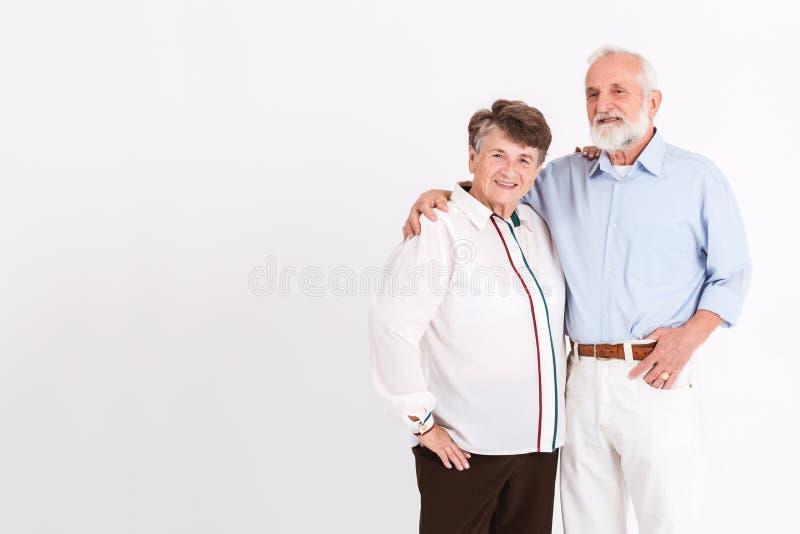 Senior love royalty free stock image