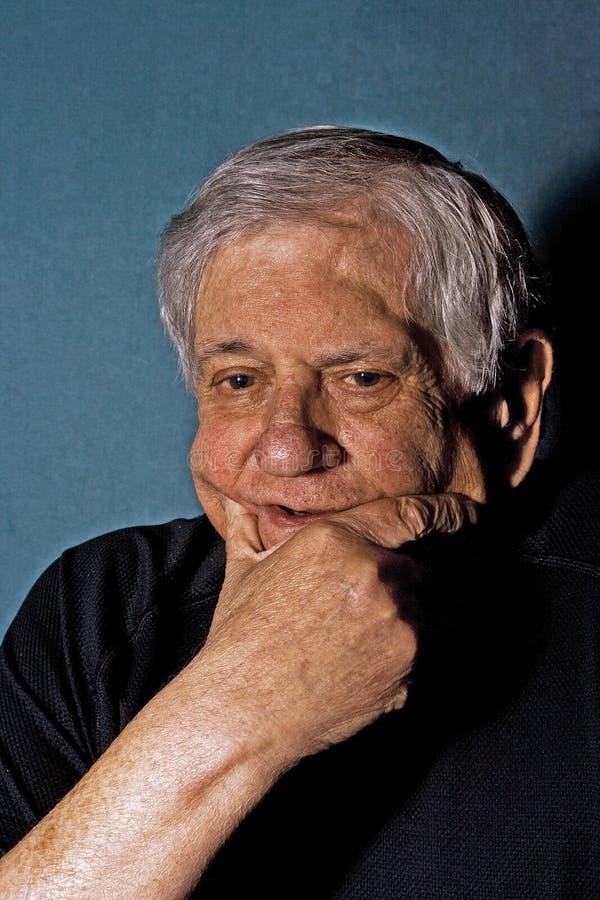 Senior man royalty free stock photography