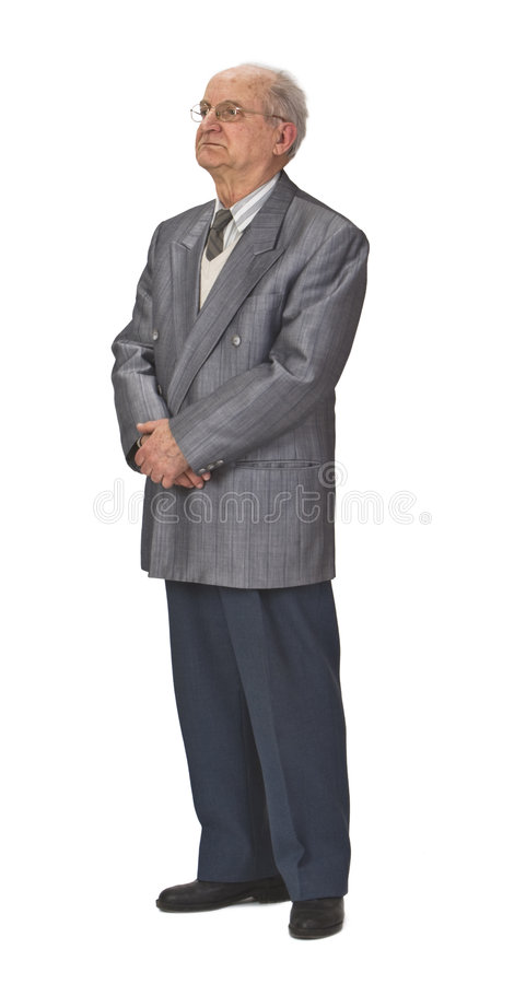 Download Senior man stock image. Image of likable, father, confident - 6425613