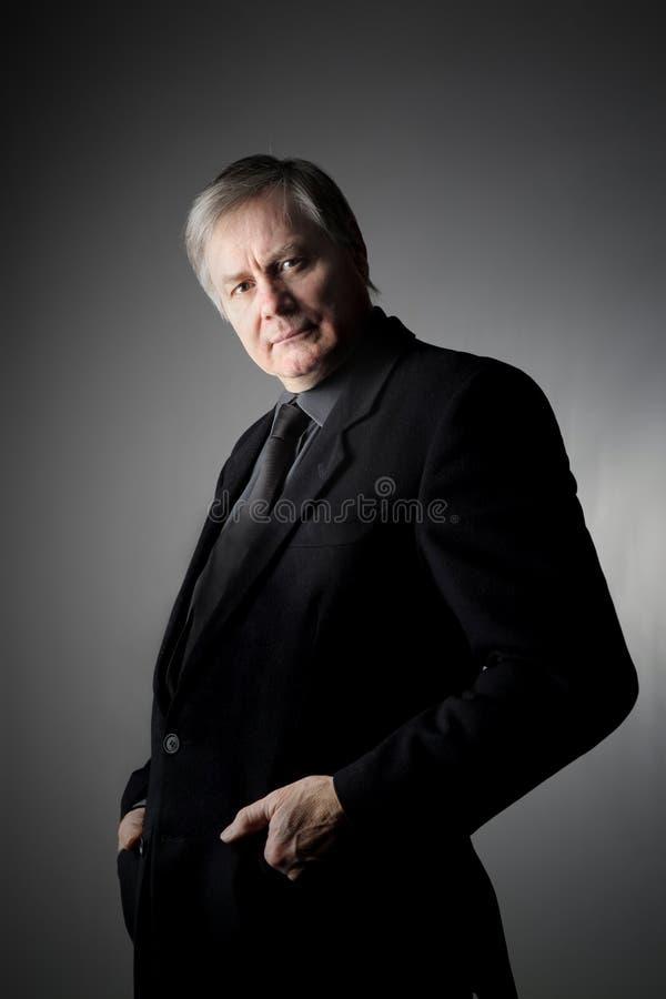 Senior man royalty free stock image