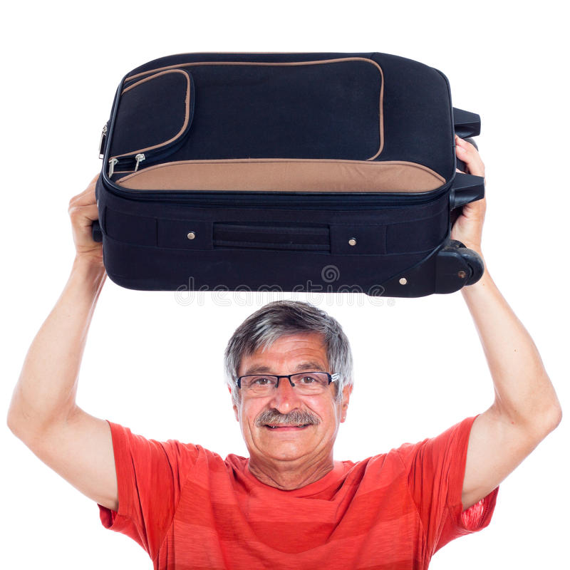 Download Senior Man With Luggage Stock Images - Image: 26521744