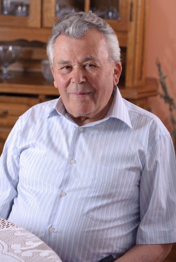 Download Senior man portrait stock image. Image of contemplation - 24665173