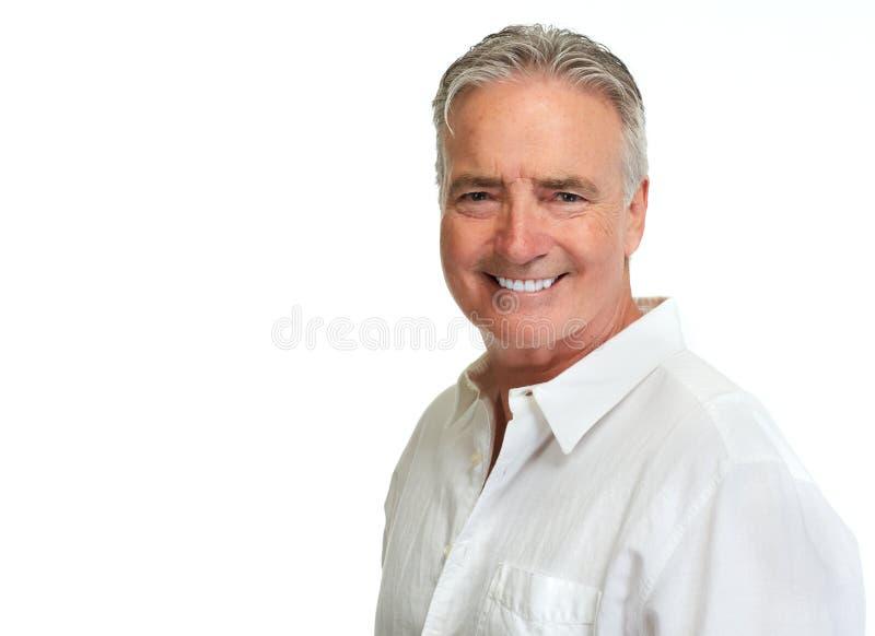 Senior man portrait. royalty free stock photo