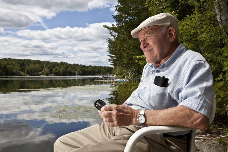 Download Senior Man Relaxing Stock Photo - Image: 21535810