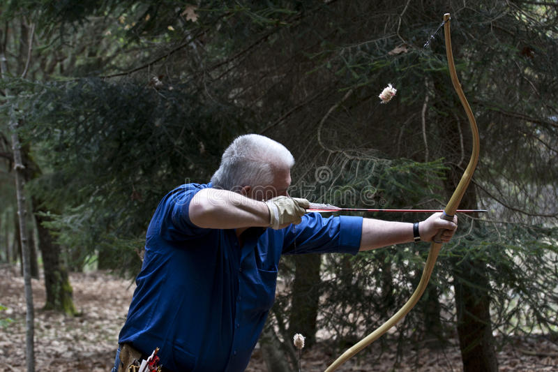 Download Senior Man With Traditional Historic Bow Editorial Image - Image: 19200995