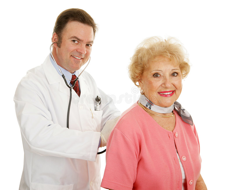 Download Senior Medical - Annual Physical Stock Images - Image: 5477464