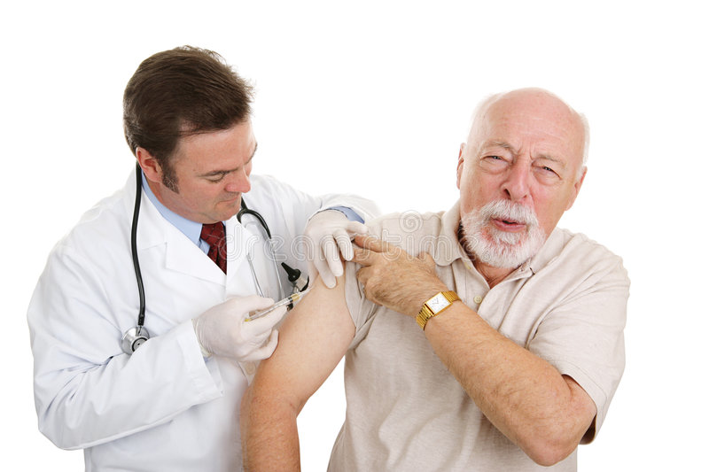 Senior Medical - That Stings stock image