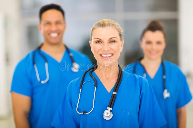 Senior medical surgeon stock photos