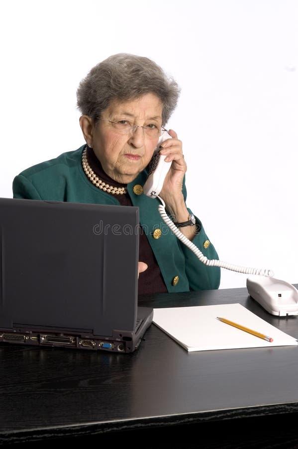 Senior office executive stock image