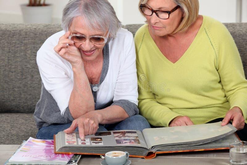 Senior people royalty free stock photography