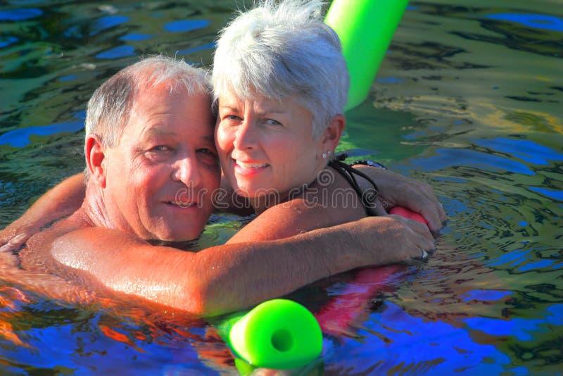Senior Play royalty free stock image