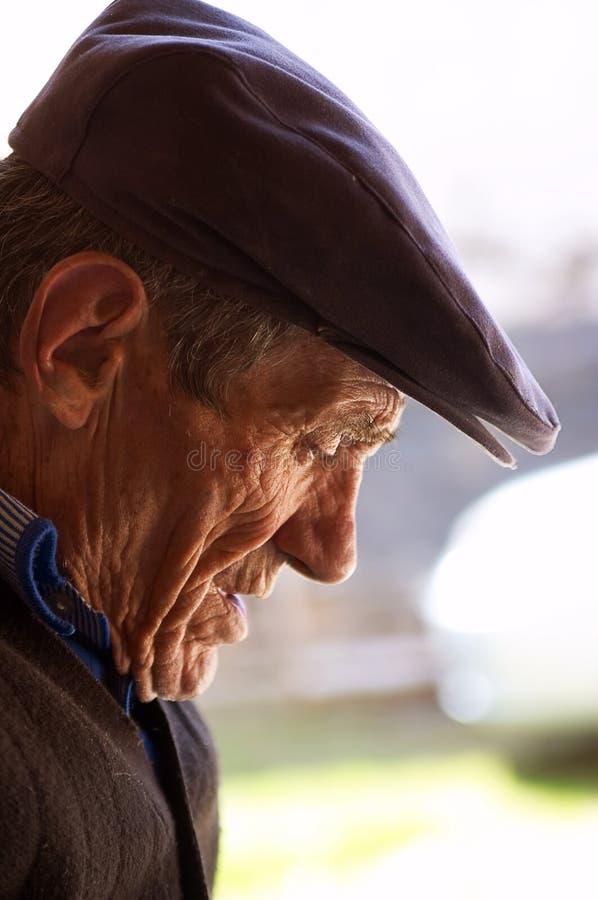 senior portret obraz stock