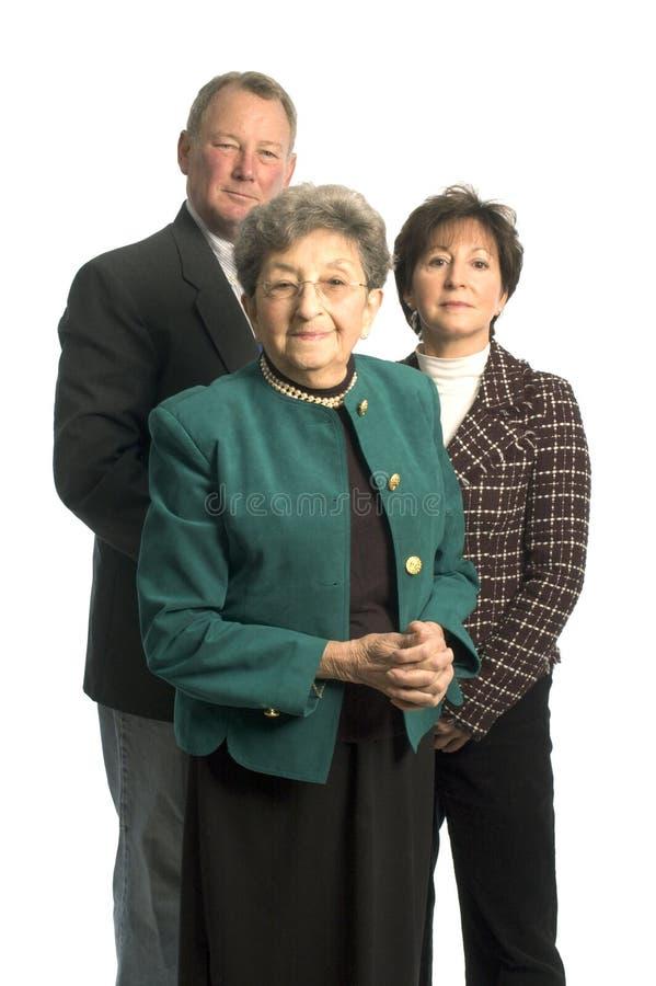senior regulacyjne zespołu zdjęcie stock