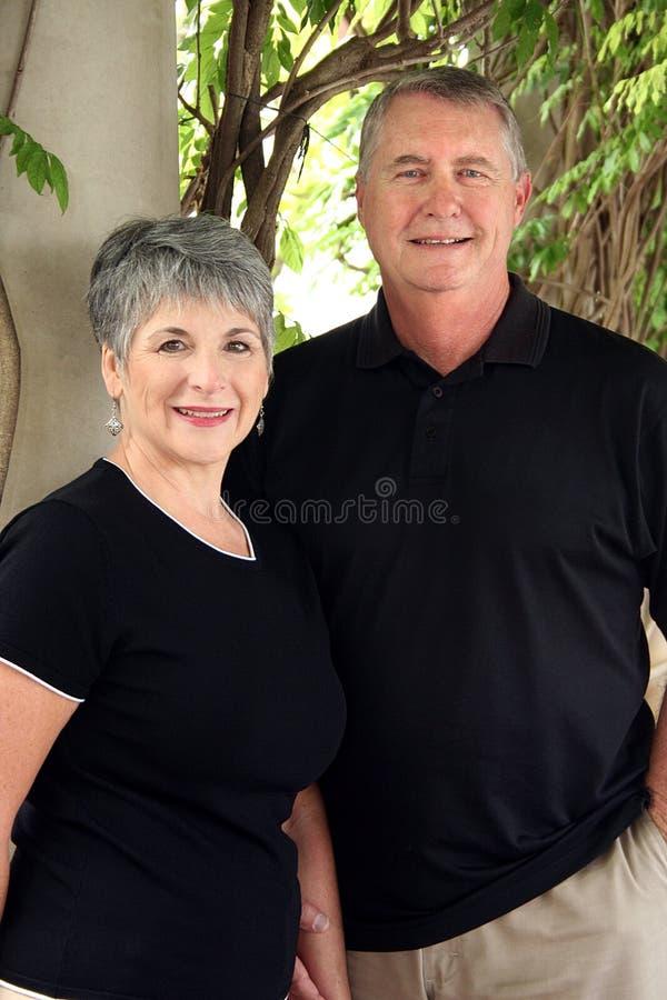 Senior Retired Couple Royalty Free Stock Image