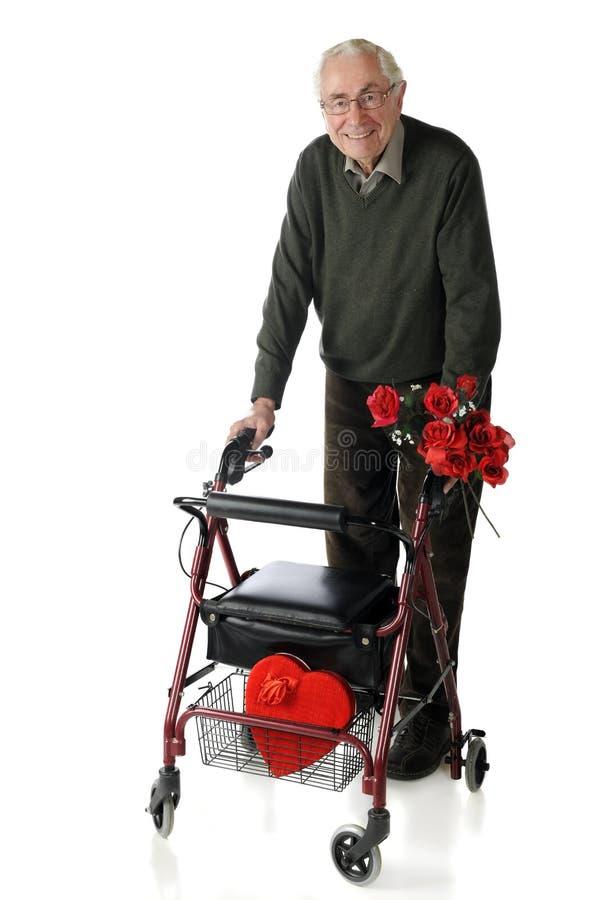 Senior Romance Royalty Free Stock Photography