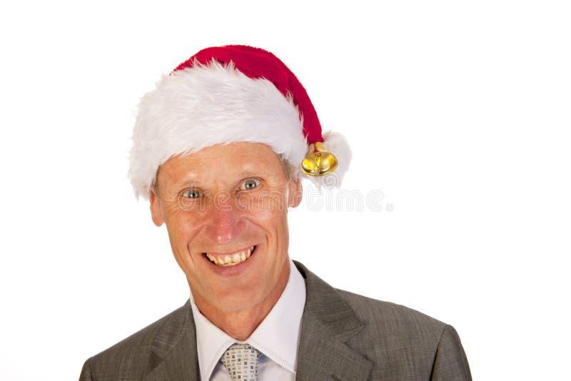 Download Senior Santa Claus stock image. Image of senior, smiling - 26646877