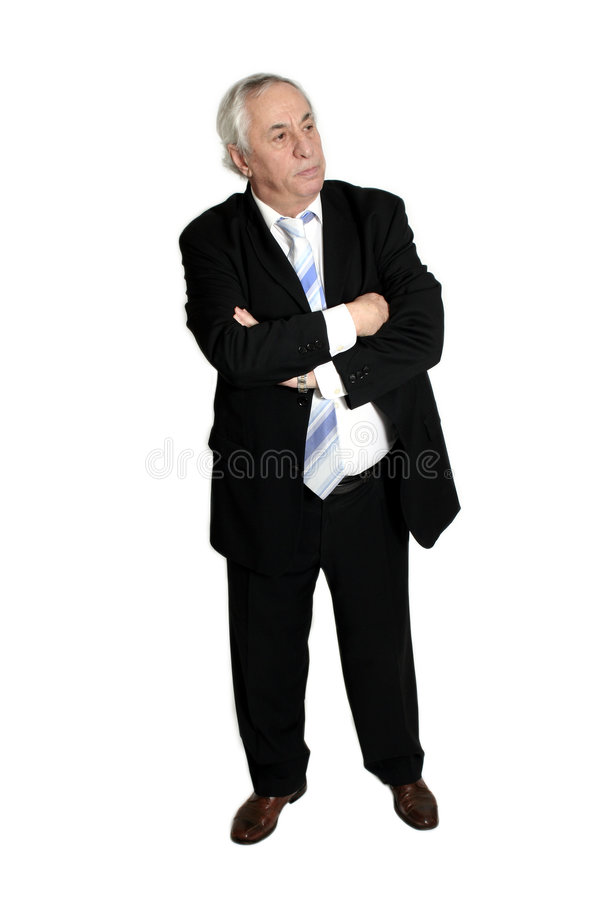 Download Senior standing stock photo. Image of sales, power, white - 469544