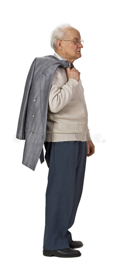Download Senior standing-up stock photo. Image of elderly, experience - 6595960