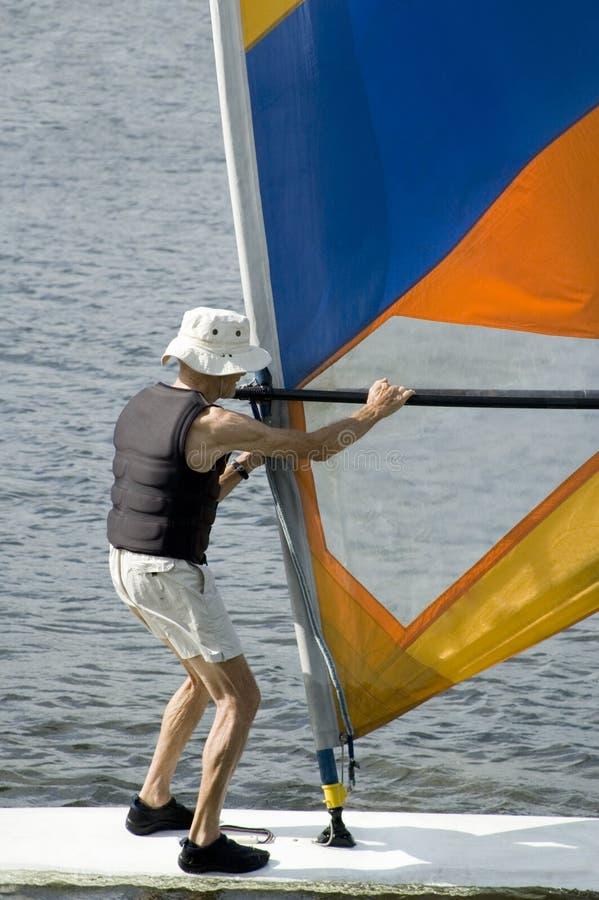 Download Senior surfer stock image. Image of calm, elderly, life - 1720515