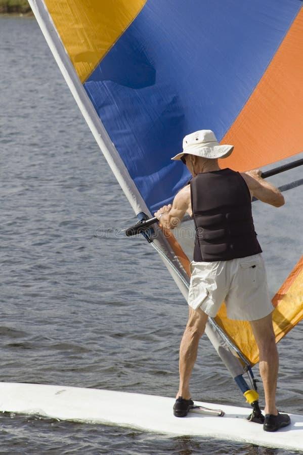 Download Senior Surfer 2 Stock Photo - Image: 1720510