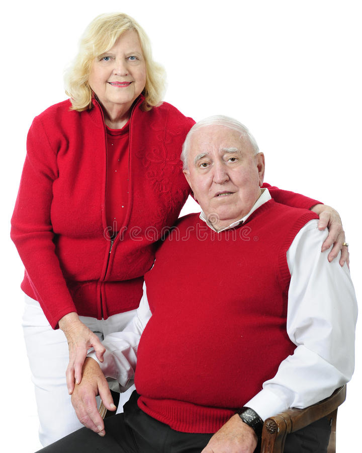 senior szczęśliwa para zdjęcia royalty free