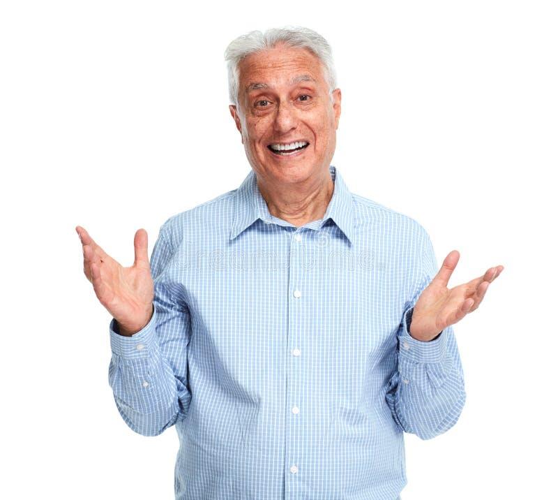 senior szczęśliwy obrazy stock