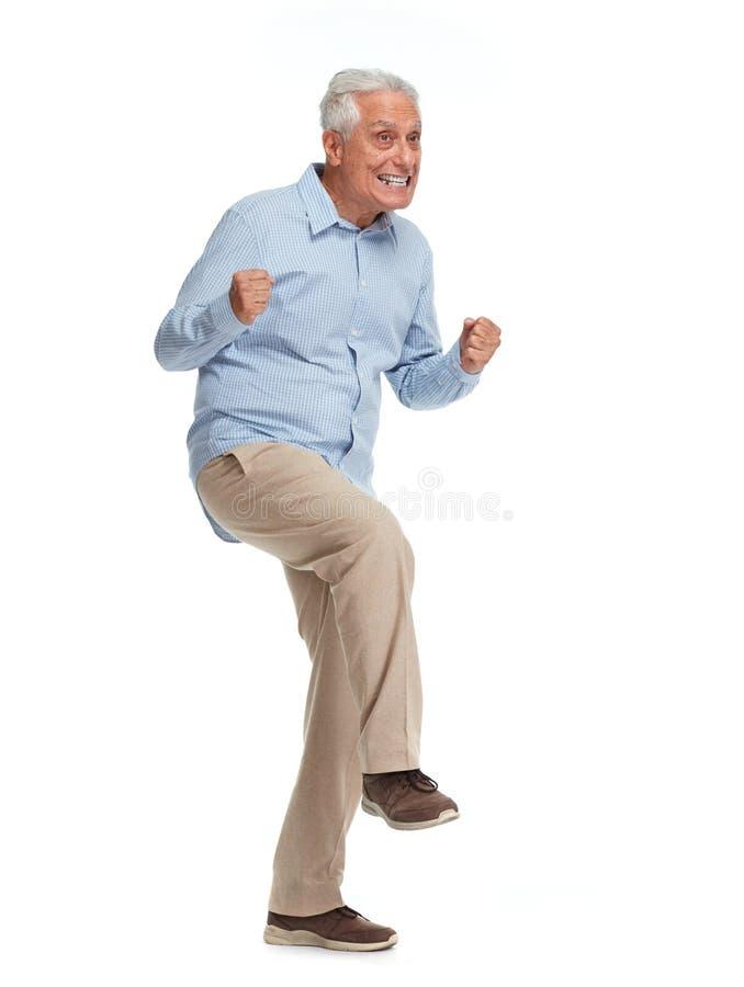 senior szczęśliwy obraz stock