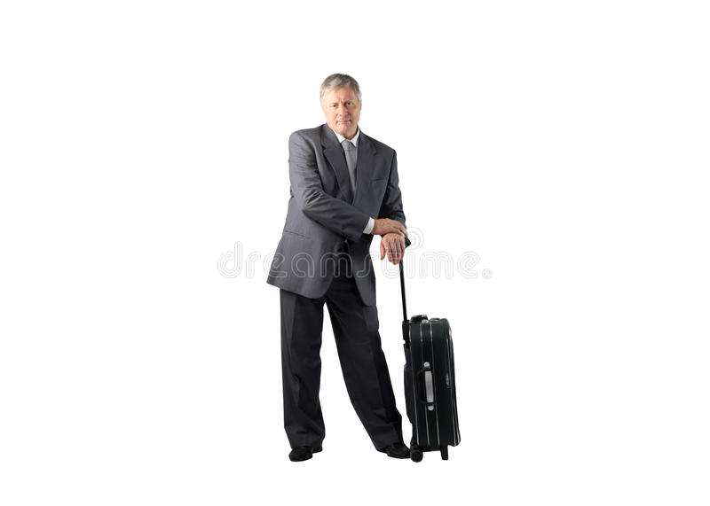 Download Senior with trolley stock image. Image of career, trip - 11330431