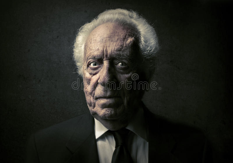 Senior royalty free stock photography