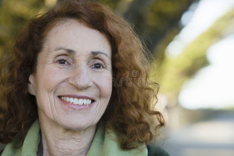 Download Senior Woman stock photo. Image of portrait, maturity - 12096182