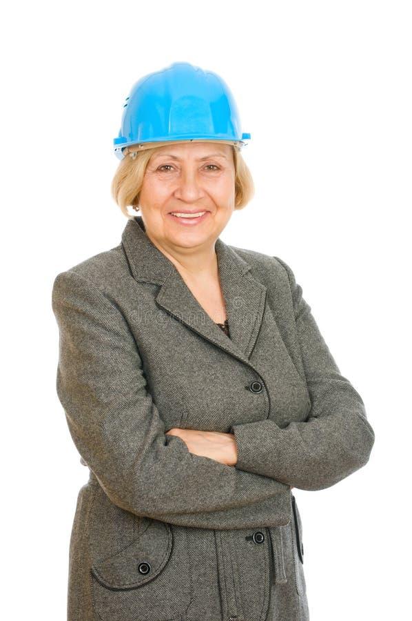 Free Senior Woman Engineer Royalty Free Stock Image - 16383736
