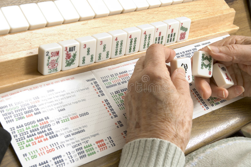 Download Senior Woman At The Game Table Royalty Free Stock Photo - Image: 1711985