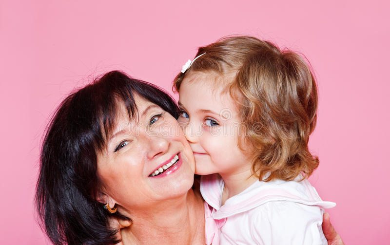 Download Senior Woman With Granddaughter Stock Image - Image: 23532671