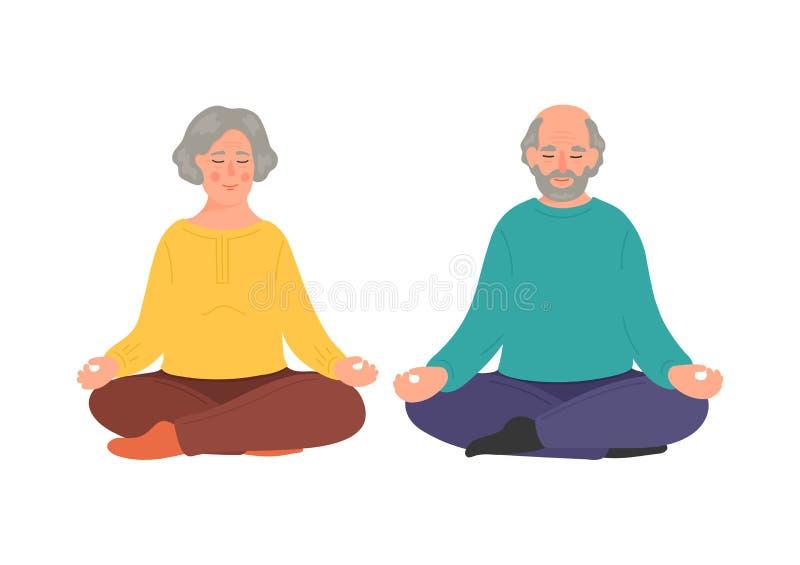 Meditation Couple Stock Illustrations 1 405 Meditation Couple Stock Illustrations Vectors Clipart Dreamstime