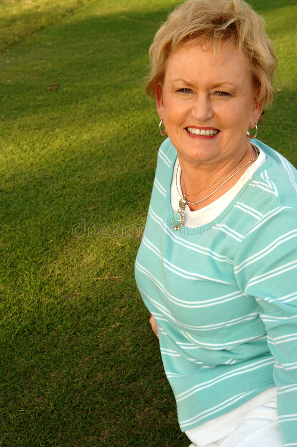 Download Senior woman portrait stock photo. Image of attractive - 4011422