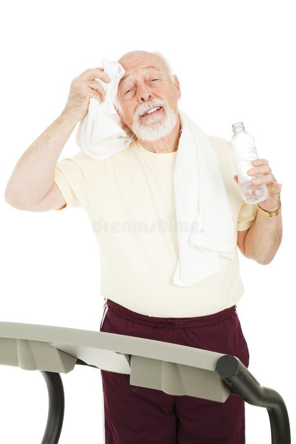 Senior Workout - Cool Down stock photo